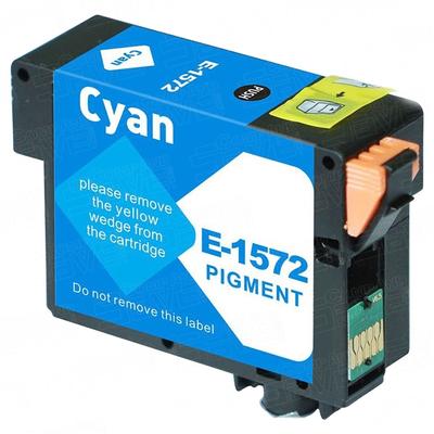 Remanufactured Epson T157220 Cyan Inkjet Cartridge