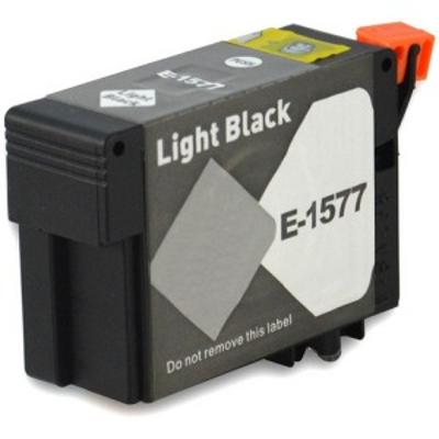 Remanufactured Epson T157720 Light Black Inkjet Cartridge