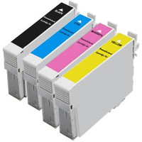 Epson T200XL120 / T200XL220 / T200XL320 / T200XL420 Remanufactured InkJet Cartridge Value Pack