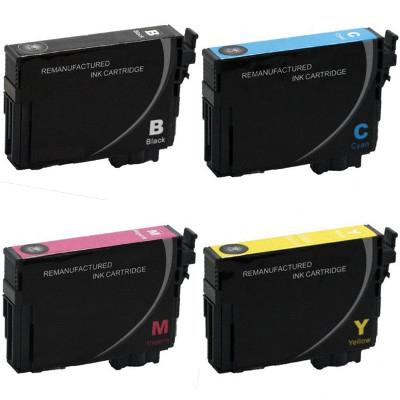Remanufactured Epson T220XL120 / T220XL220 / T220XL320 / T220XL420 Inkjet Cartridge MultiPack
