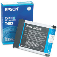 Epson T483011 Cyan InkJet Cartridge