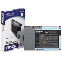 Epson T543500 Ultrachrome Photo Light Cyan InkJet Cartridge