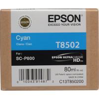 OEM Epson T8502 (T850200) Cyan Inkjet Cartridge