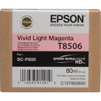 OEM Epson T8506 (T850600) Vivid Light Magenta Inkjet Cartridge