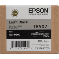 OEM Epson T8507 (T850700) Light Black Inkjet Cartridge