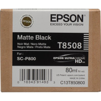 OEM Epson T8508 (T850800) Matte Black Inkjet Cartridge