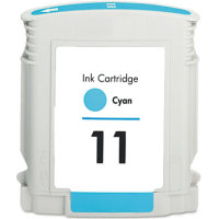 Hewlett Packard HP C4836AN (HP 11 Cyan) Remanufactured InkJet Cartridge