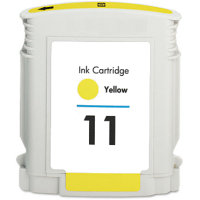 Hewlett Packard HP C4838AN (HP 11 Yellow) Remanufactured InkJet Cartridge