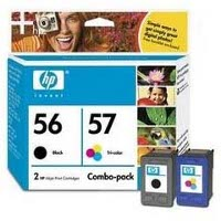Hewlett Packard HP C9321FN (HP 56/57) InkJet Cartridge Combo Pack