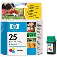 Hewlett Packard HP 51625A (HP 25) Inkjet Cartridge