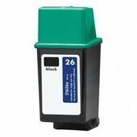 Hewlett Packard HP 51626A (HP 26) Remanufactured Inkjet  Cartridges