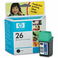Hewlett Packard HP 51626A (HP 26) Inkjet Cartridge