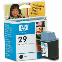 Hewlett Packard HP 51629A (HP 29) Black Inkjet Cartridge