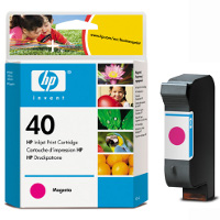 Hewlett Packard HP 51640M (HP 40) Magenta Inkjet Cartridge