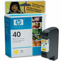 Hewlett Packard HP 51640Y (HP 40) Yellow Inkjet Cartridge