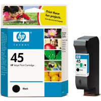 Hewlett Packard HP 51645A (HP 45) Black Inkjet Cartridge