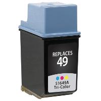 Hewlett Packard HP 51649A / HP 49 Replacement InkJet Cartridge