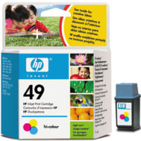 Hewlett Packard HP 51649A (HP 49) Regular Size Color InkJet Cartridge