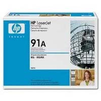 Hewlett Packard HP 92291A (HP 91A) Microfine Black Laser Toner Cartridge