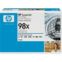 Hewlett Packard HP 92298X (HP 98X) High Capacity Black Laser Toner Cartridge