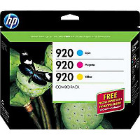 Hewlett Packard HP B3B30FN (HP 920) InkJet Cartridge Creative Combo Pack