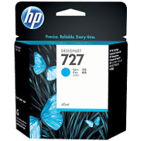 Hewlett Packard HP B3P13A (HP 727 Cyan) InkJet Cartridge