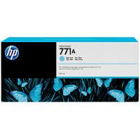Hewlett Packard HP B6Y20A (HP 771A Light Cyan) InkJet Cartridge