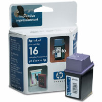 Hewlett Packard HP C1816A (HP 16) Photo Inkjet Cartridge