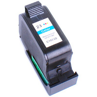 Hewlett Packard HP C1823A (HP 23) Remanufactured InkJet Cartridge