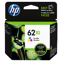 HP 62XL Color OEM originales Cartucho de tinta