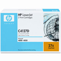 Hewlett Packard HP C4127D (HP 27X) Laser Toner Cartridges