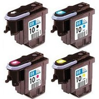 Hewlett Packard Printhead Set (one of each individual Color InkJet Cartridges Printheads)