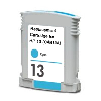Hewlett Packard HP C4815A (HP 13 Cyan) Remanufactured InkJet Cartridge