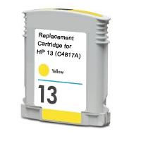 Hewlett Packard HP C4817A (HP 13 Yellow) Remanufactured InkJet Cartridge
