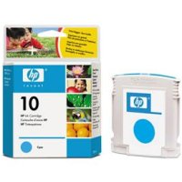 Hewlett Packard HP C4841A (HP 10 Cyan) Inkjet Cartridge