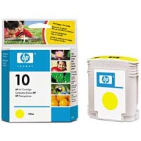 HP 10 Yellow OEM originales Cartucho de tinta