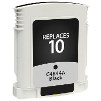 Hewlett Packard HP C4844A / HP 10 Black Replacement InkJet Cartridge