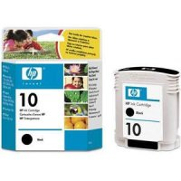 Hewlett Packard HP C4844A (HP 10 Black) Inkjet Cartridge