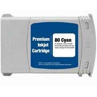 Hewlett Packard HP C4846A (HP 80XL Cyan) Remanufactured InkJet Cartridge