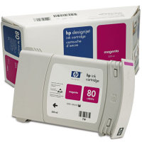 Hewlett Packard HP C4847A (HP 80 ) High Capacity Magenta Inkjet Cartridge