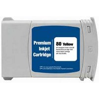 Hewlett Packard HP C4848A (HP 80XL Yellow) Remanufactured InkJet Cartridge