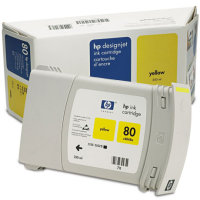 Hewlett Packard HP C4848A (HP 80) High Capacity Yellow Inkjet Cartridge