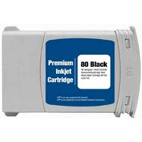 Hewlett Packard HP C4871A (HP 80XL Black) Remanufactured InkJet Cartridge