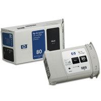Hewlett Packard HP C4871A (HP 80) High Capacity Black Inkjet Cartridge