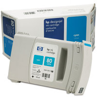Hewlett Packard HP C4872A (HP 80) Cyan Inkjet Cartridge