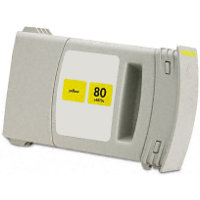 Hewlett Packard HP C4873A (HP 80 Yellow) Remanufactured InkJet Cartridge