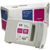 Hewlett Packard HP C4874A (HP 80) Regular Capacity Magenta Inkjet Cartridge