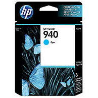 Hewlett Packard HP C4903AN (HP 940 Cyan) InkJet Cartridge