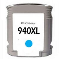 Hewlett Packard HP C4907AN (HP 940XL Cyan) Remanufactured InkJet Cartridge