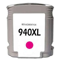 Hewlett Packard HP C4908AN (HP 940XL Magenta) Remanufactured InkJet Cartridge